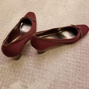 Maroon Naturalizer Heels